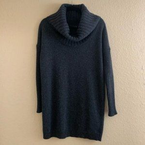 THEORY Alonso Wool Cashmere Cowl Neck Sweater S